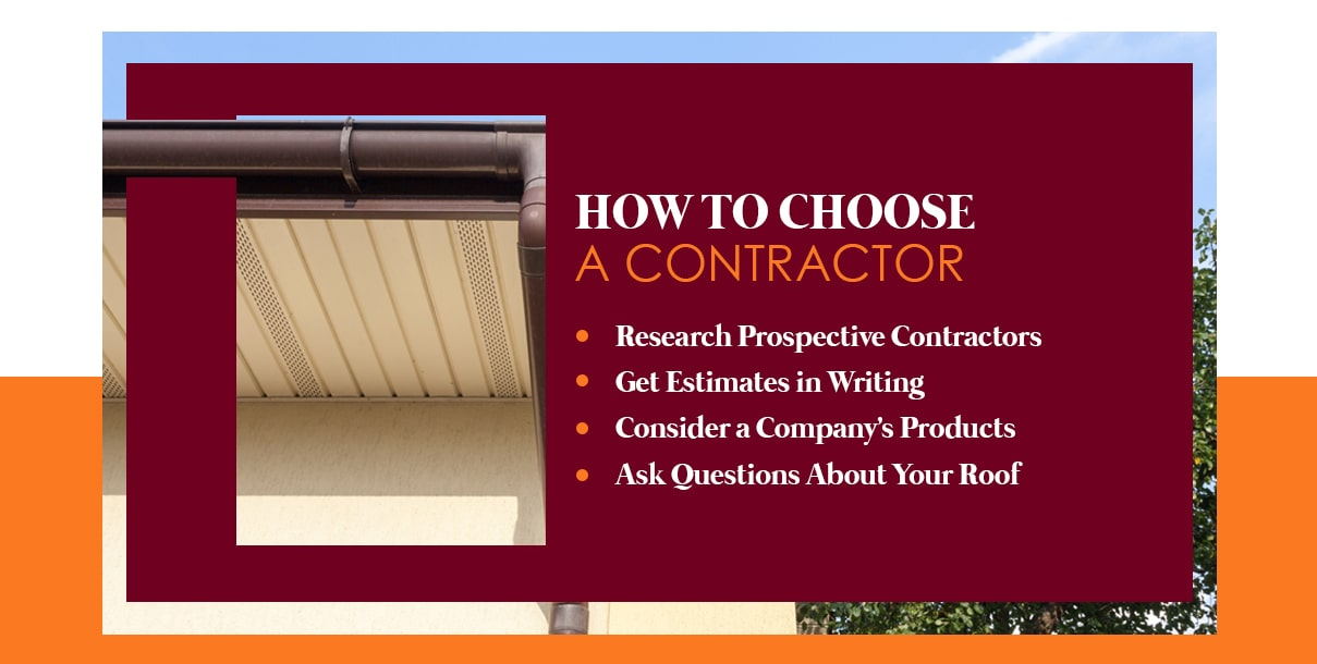 how to choose gutter contractor